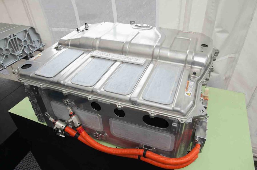 Toyota FCV hydrogen fuel cell