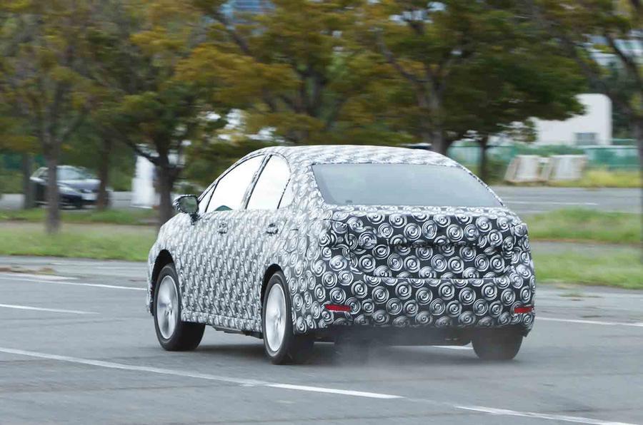 Toyota FCV rear
