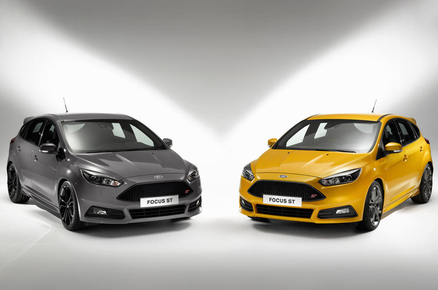 Revised Ford Focus ST revealed