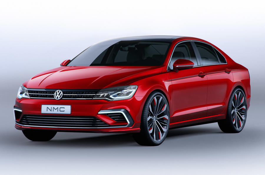 Volkswagen New Midsize Coupe concept unveiled at Beijing