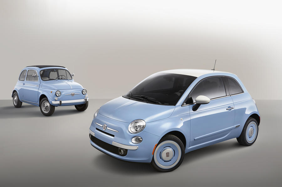 Special Fiat 500 '1957 Edition' revealed