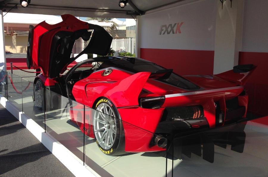 Ferrari reveals 1021bhp LaFerrari FXX K - updated