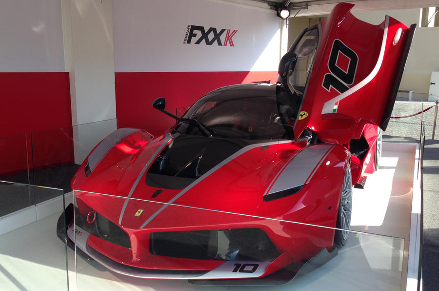 Ferrari reveals 1021bhp LaFerrari FXX K - updated