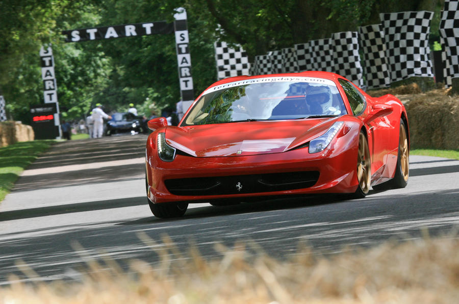 Your chance to win a Ferrari ride at the Goodwood Festival of Speed