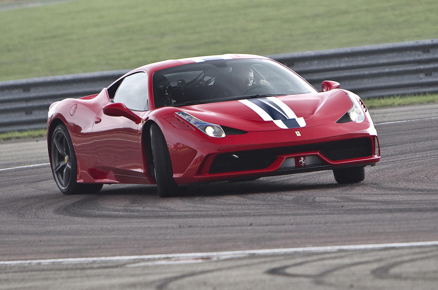 A Ferrari 458 Speciale and Luca di Montezemolo - a typical day at Maranello