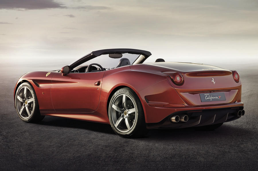 Facelifted Ferrari California revealed