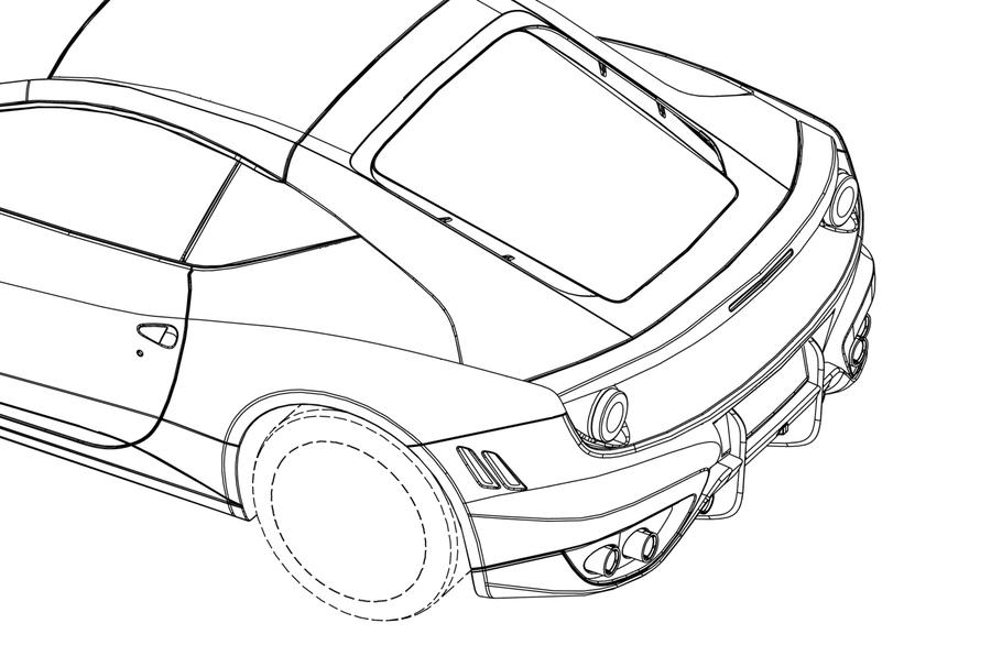 New Front Engined Ferrari Revealed In Patents