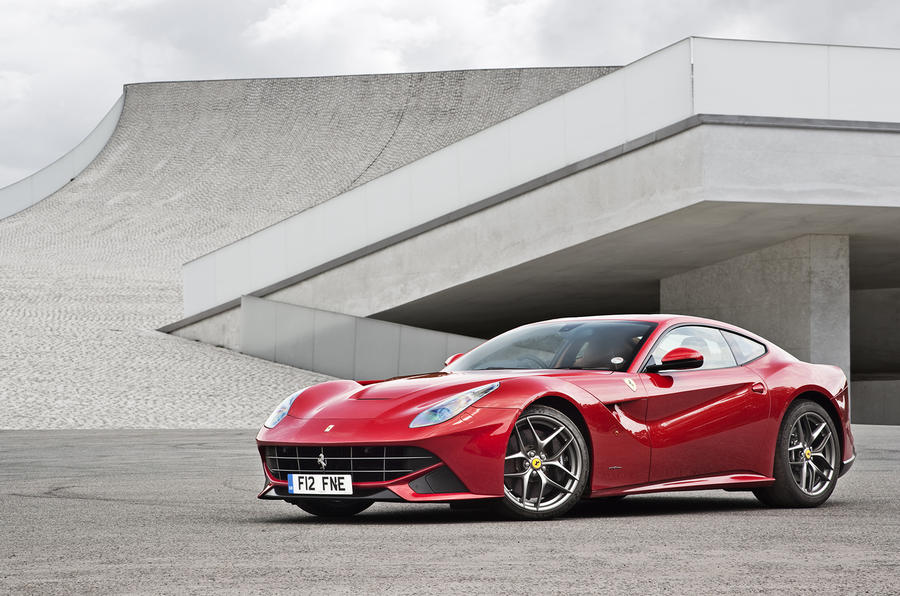 4.5 star Ferrari F12 Berlinetta