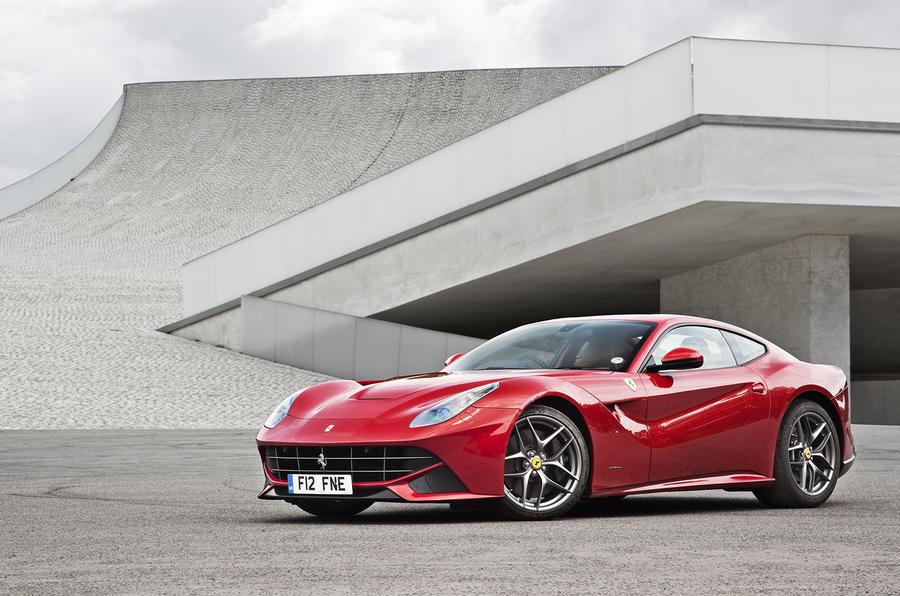 4.5 star Ferrari F12 Berlinetta