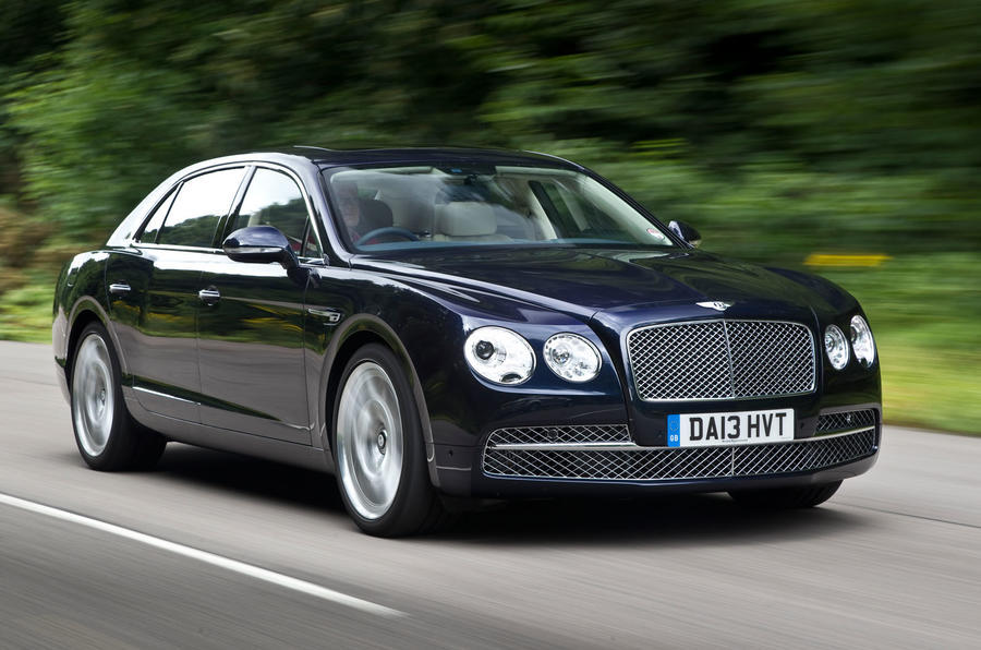 The 616bhp Bentley Flying Spur