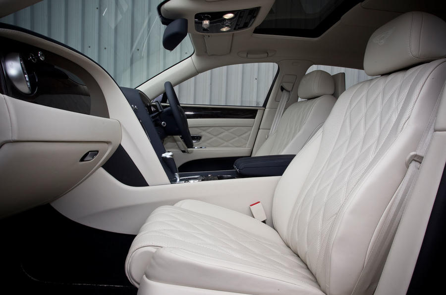 Bentley Flying Spur's front seats