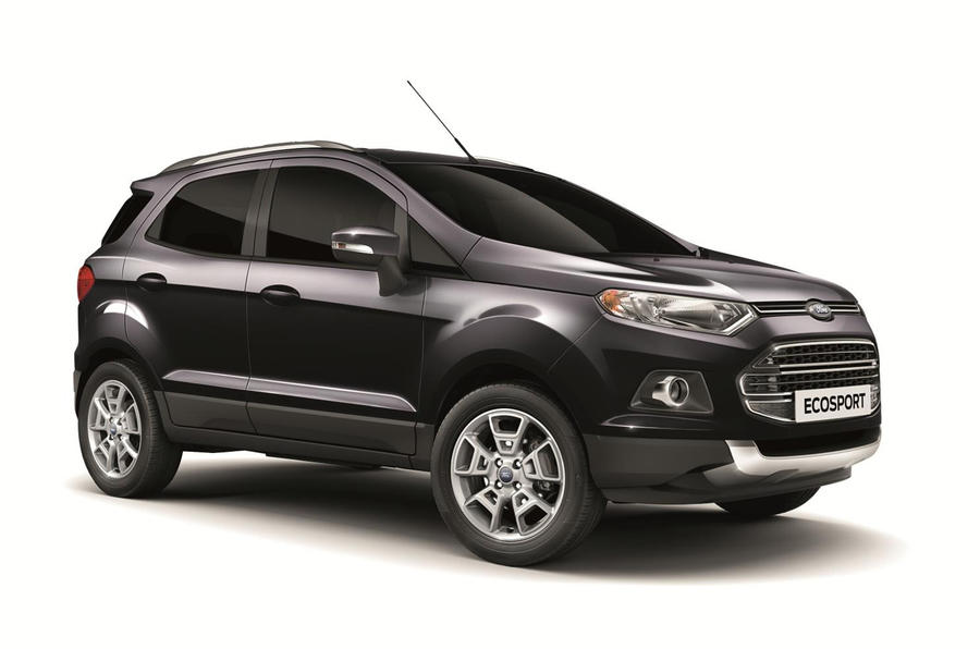 Ford launches limited edition EcoSport on Facebook