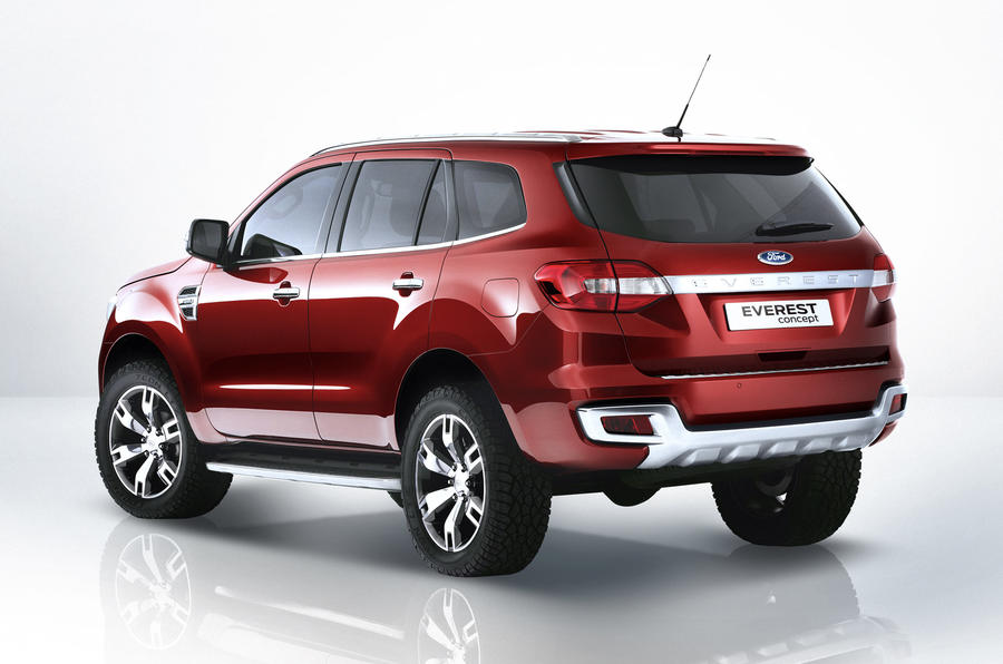 New seven-seat Ford Everest concept unveiled in Beijing