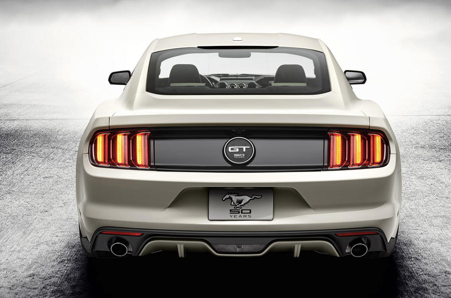 Ford reveals 50th anniversary Mustang at New York show