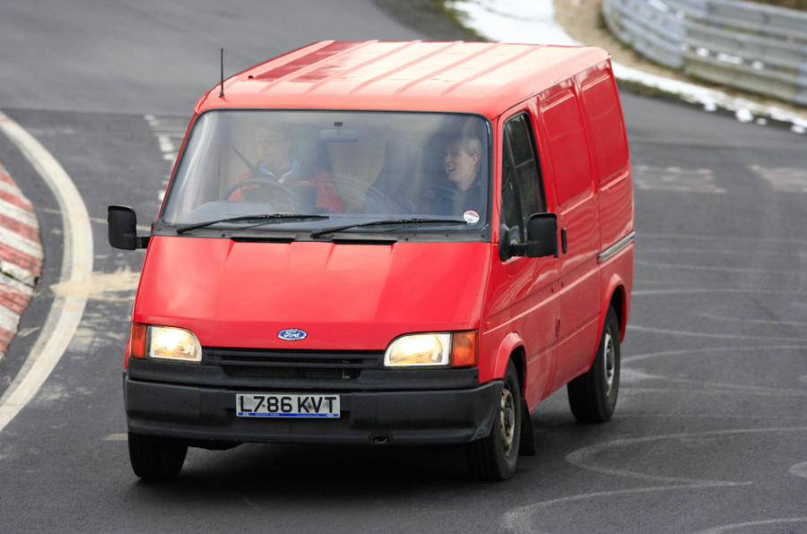 History Of The Ford Transit Picture Special