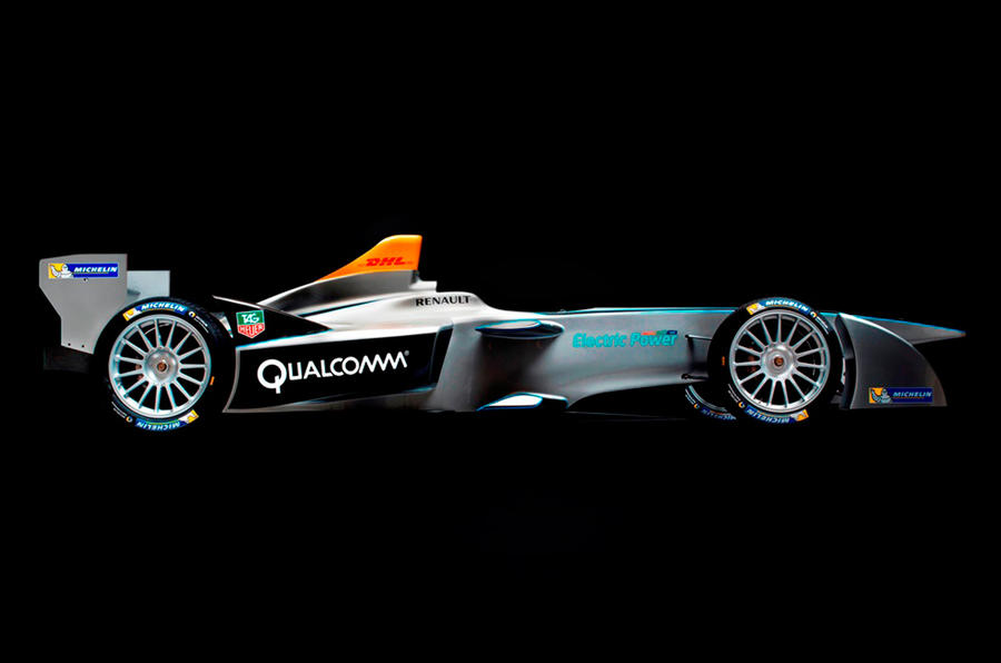 Formula E Spark-Renault electric racer revealed