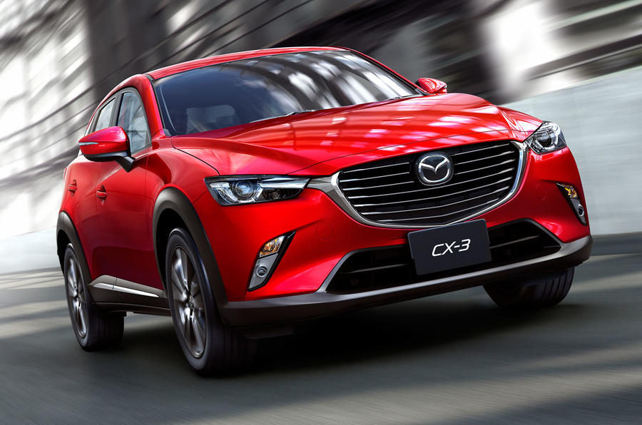 Mazda CX-3 crossover revealed at LA motor show