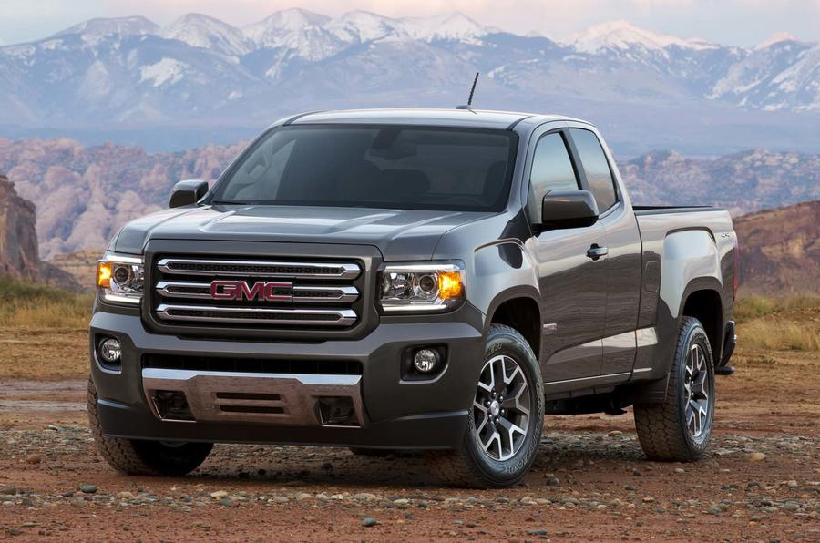 GMC Canyon revealed at the Detroit motor show