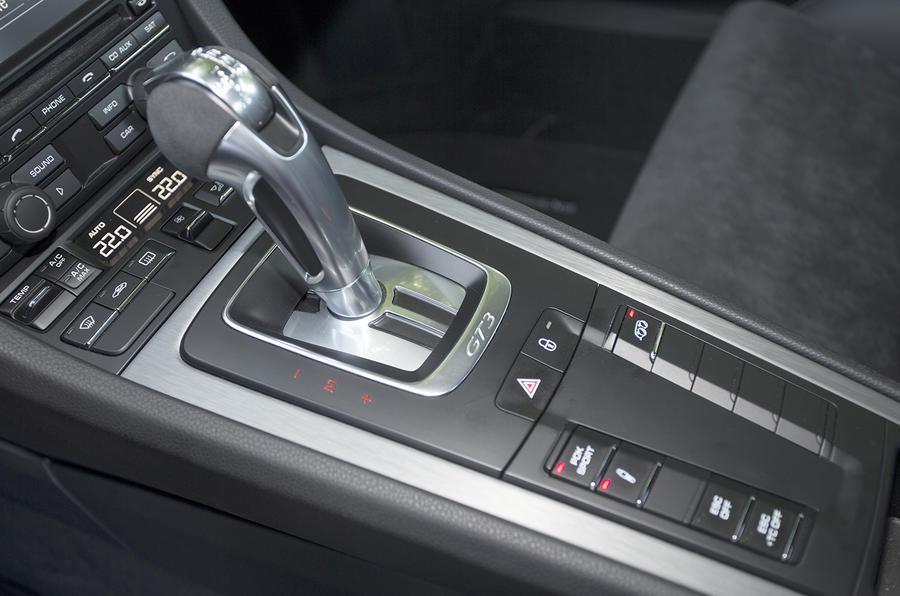 Porsche 911 GT3 Clubsport PDK gearbox