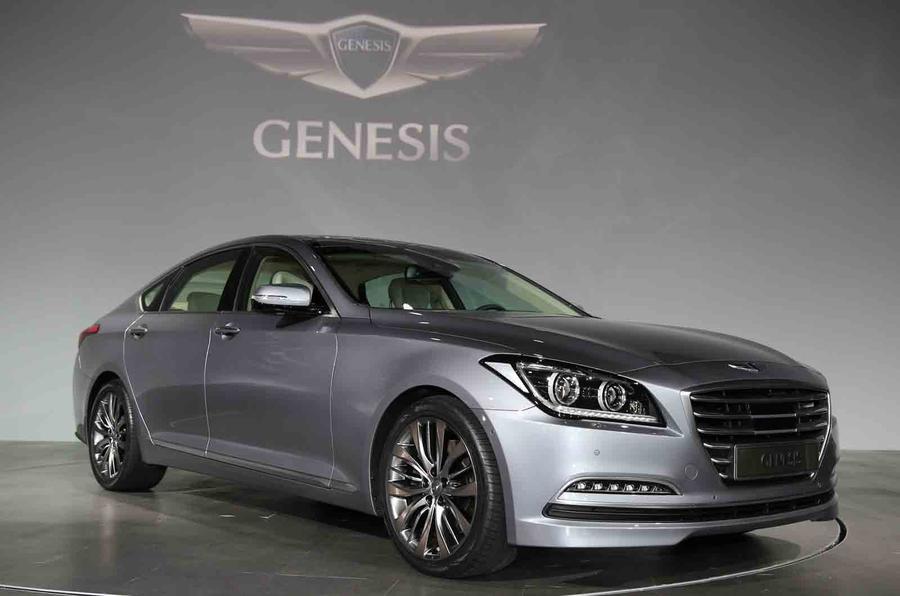 Spy pics reveal 2015 Hyundai Genesis
