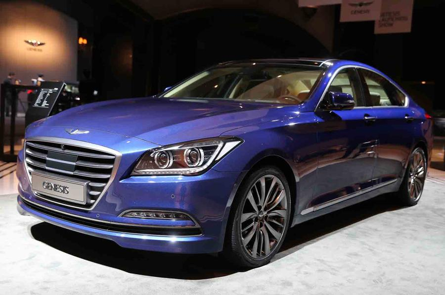 2015 Hyundai Genesis revealed