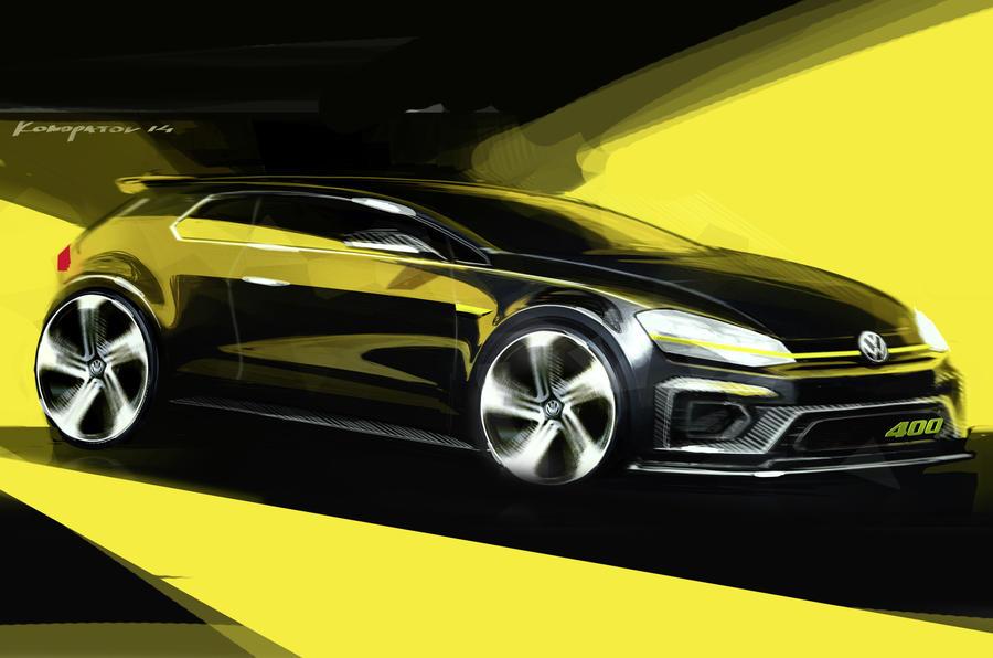 Volkswagen confirms 395bhp Golf R 400 for Beijing motor show