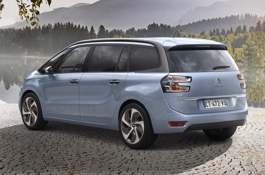 New Citroën C4 Grand Picasso revealed
