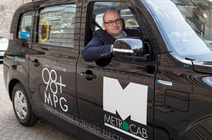 Driving London's new hybrid taxi