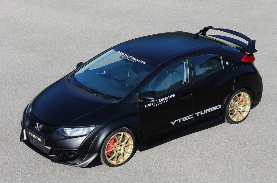 2.0-litre Honda Civic Type-R prototype