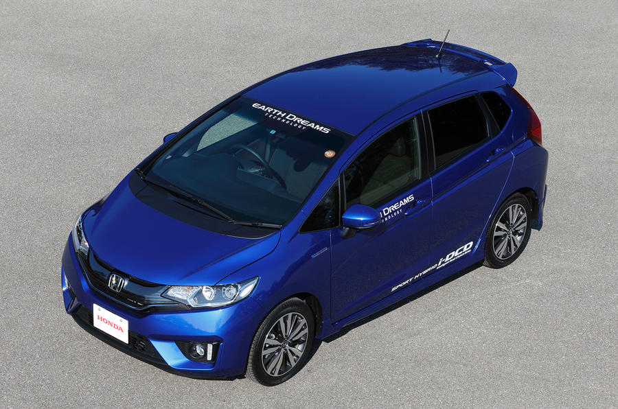 honda jazz hybrid first drive. Black Bedroom Furniture Sets. Home Design Ideas