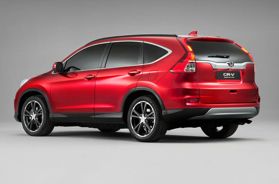 Honda reveals facelifted CR-V