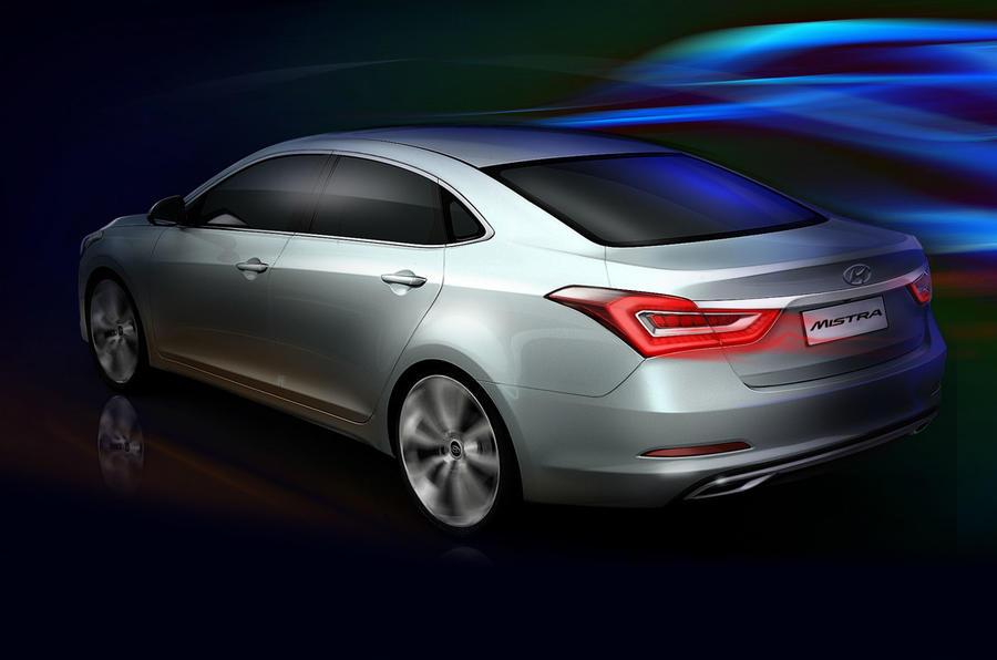 Hyundai Mistra concept revealed: Shanghai motor show