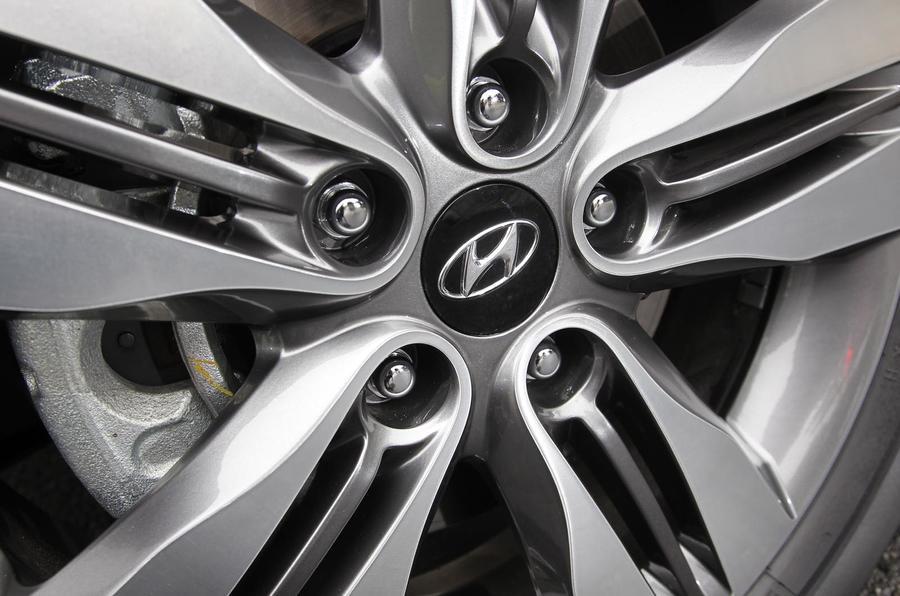 17in Hyundai ix35 alloy wheels