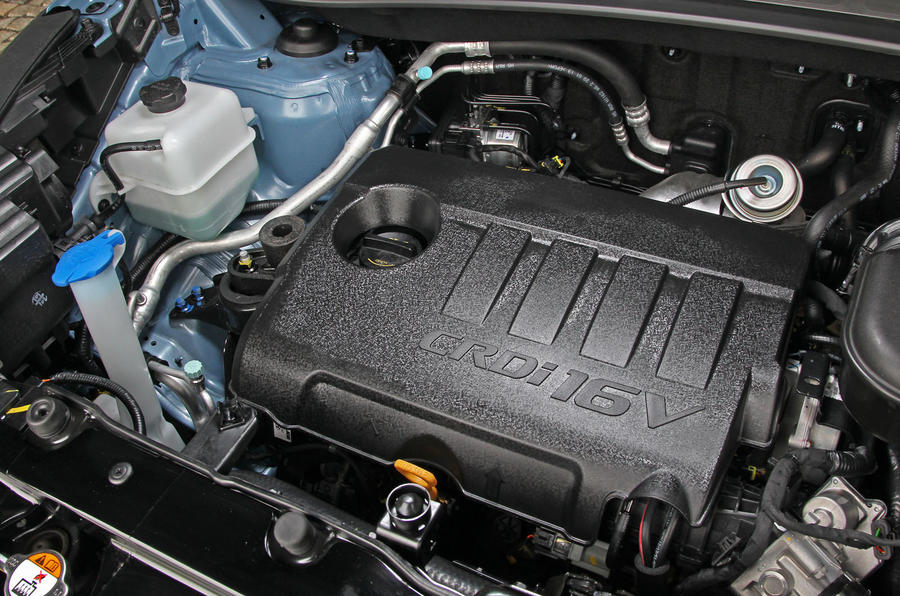 1.7-litre Hyundai ix35 diesel engine