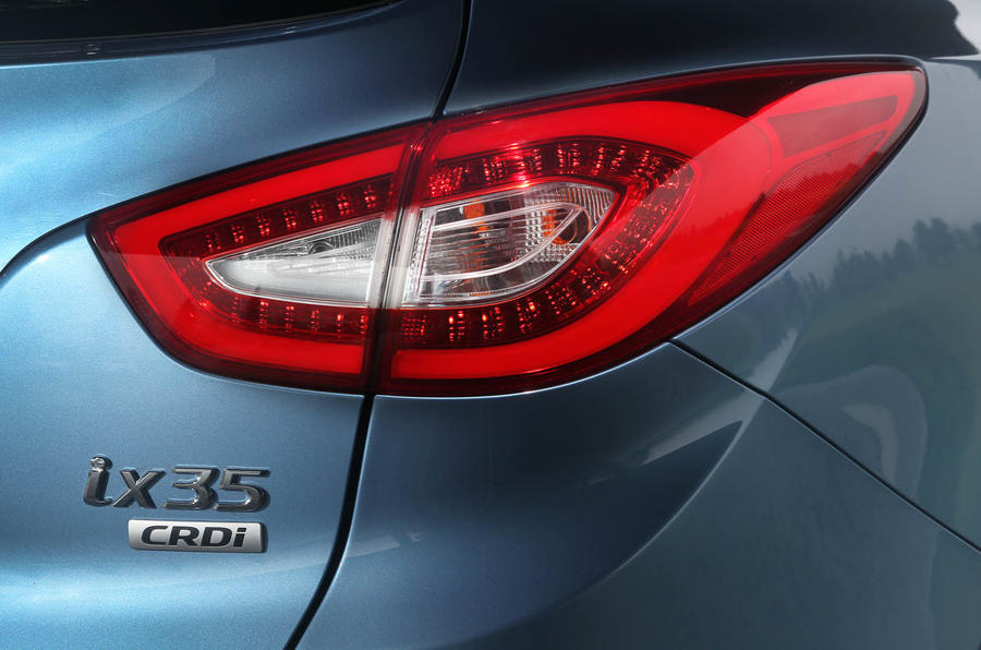Hyundai ix35 tailights