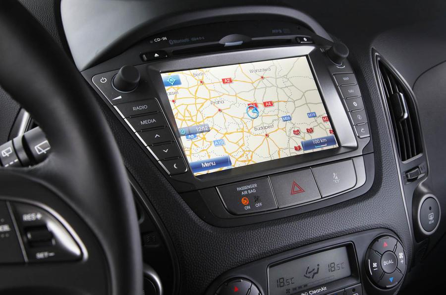 Hyundai ix35 infotainment system