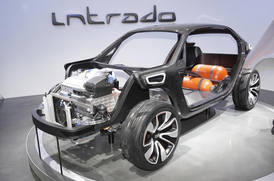 Hyundai Intrado concept previews design future