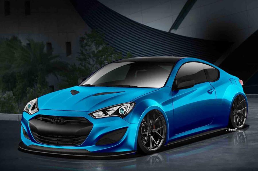 Hyundai to show custom Genesis coupe concept at SEMA show