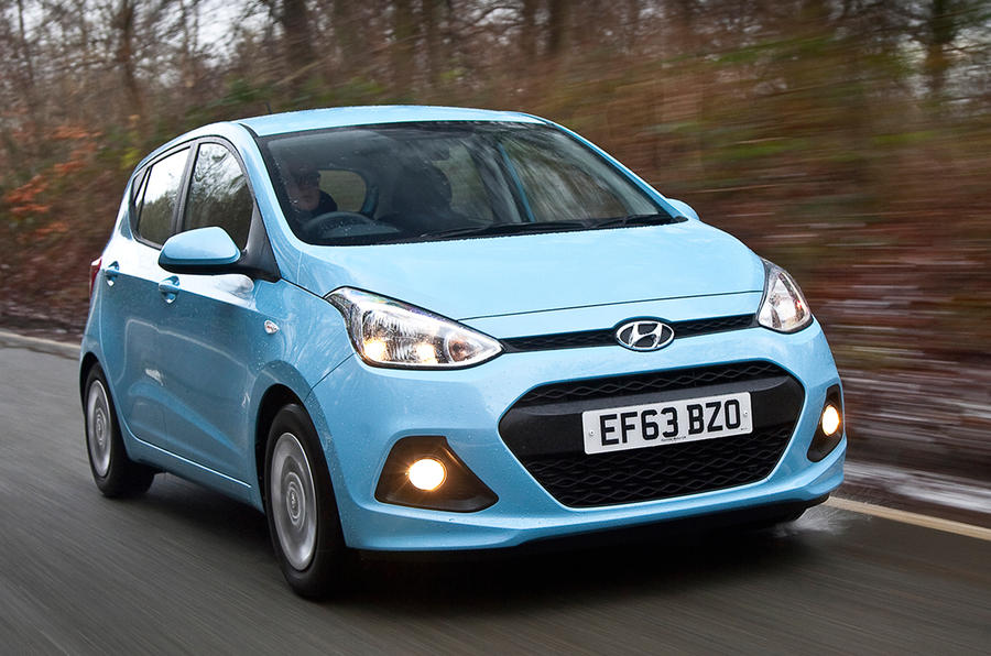 Hyundai i10 SE 1.0 66PS petrol manual