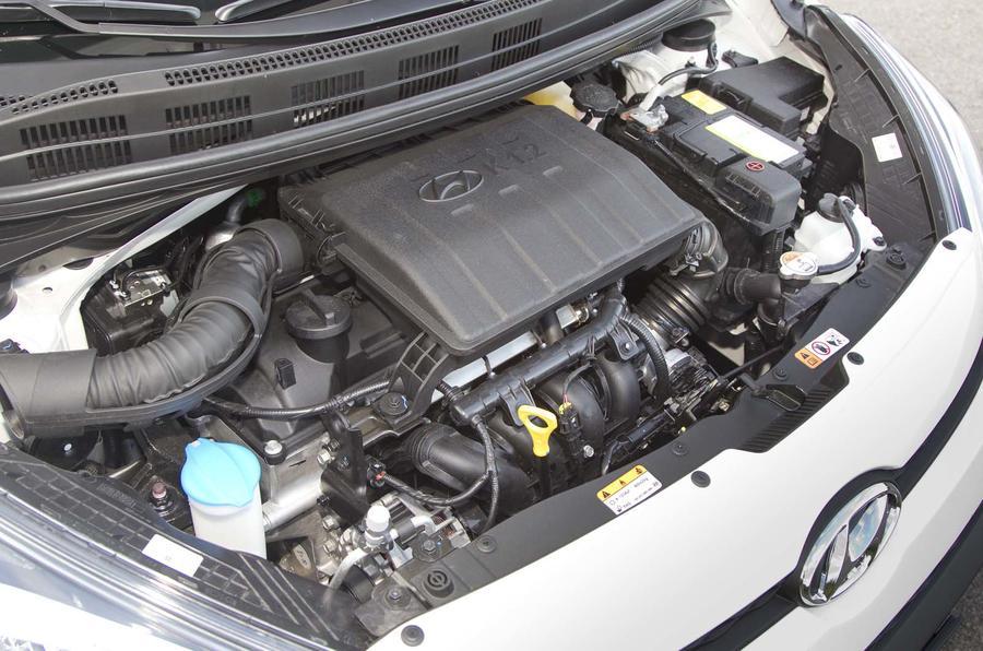 1.0-litre Hyundai i10 petrol engine