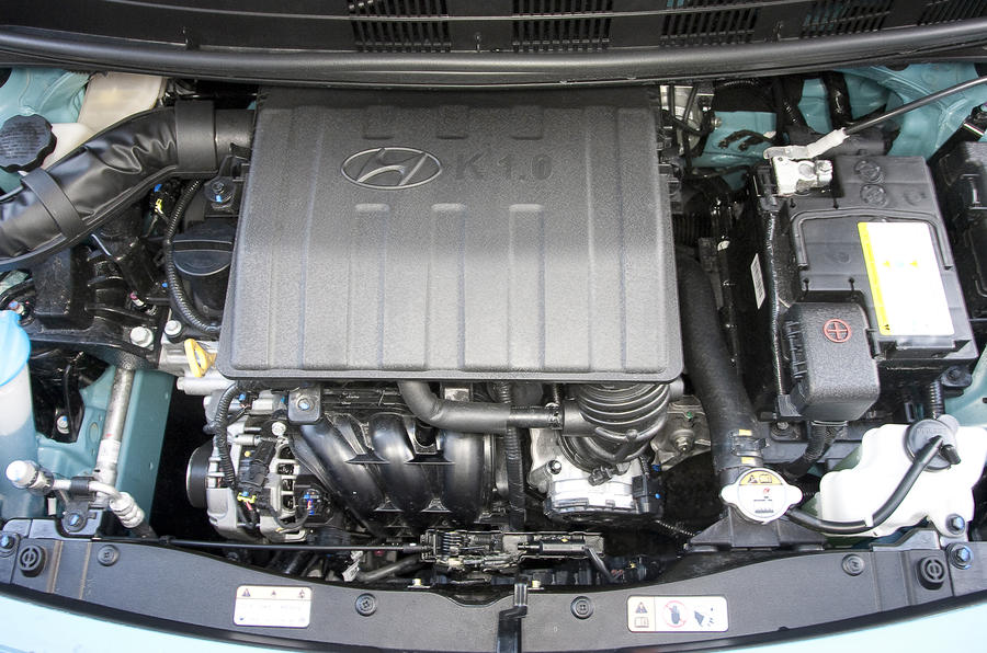 1.0-litre Hyundai i10 engine