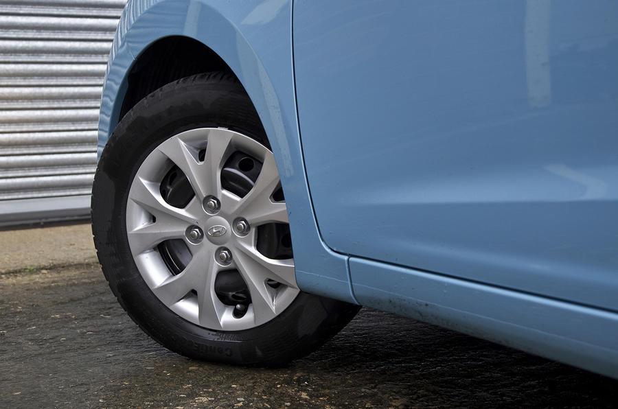 Hyundai i10 13in steel wheel