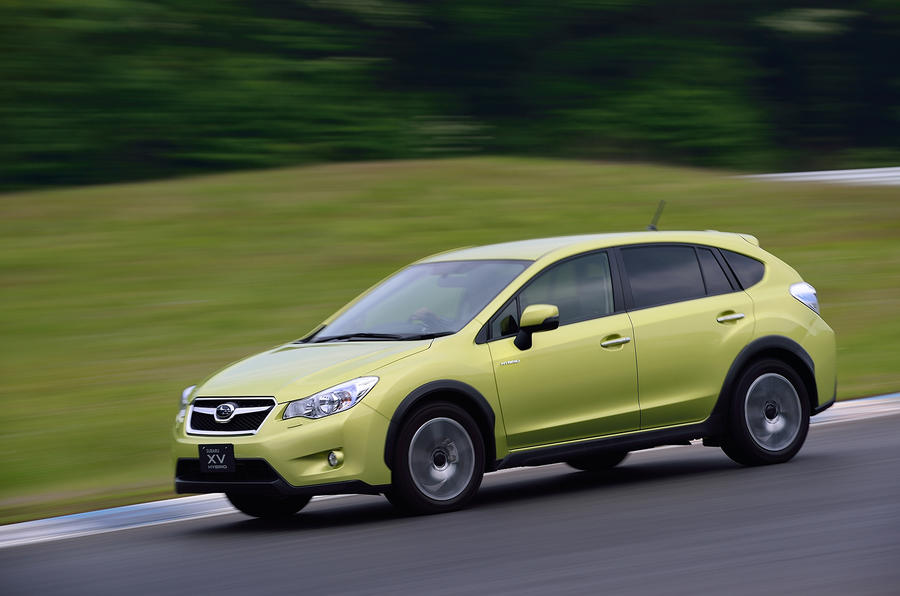 Subaru XV Hybrid first drive review
