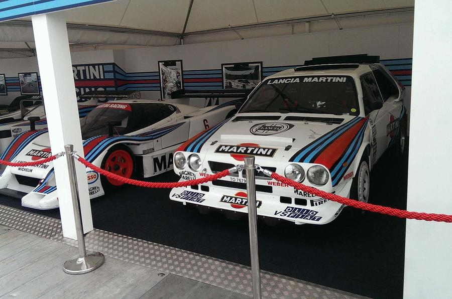 Goodwood Festival of Speed 2013: Martini Racing icons