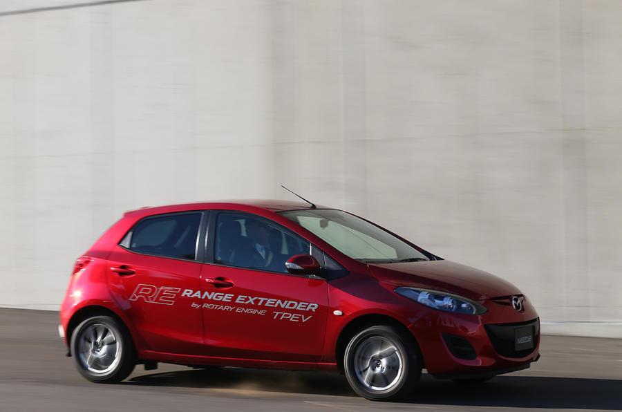 Mazda 2 EV range extender prototype