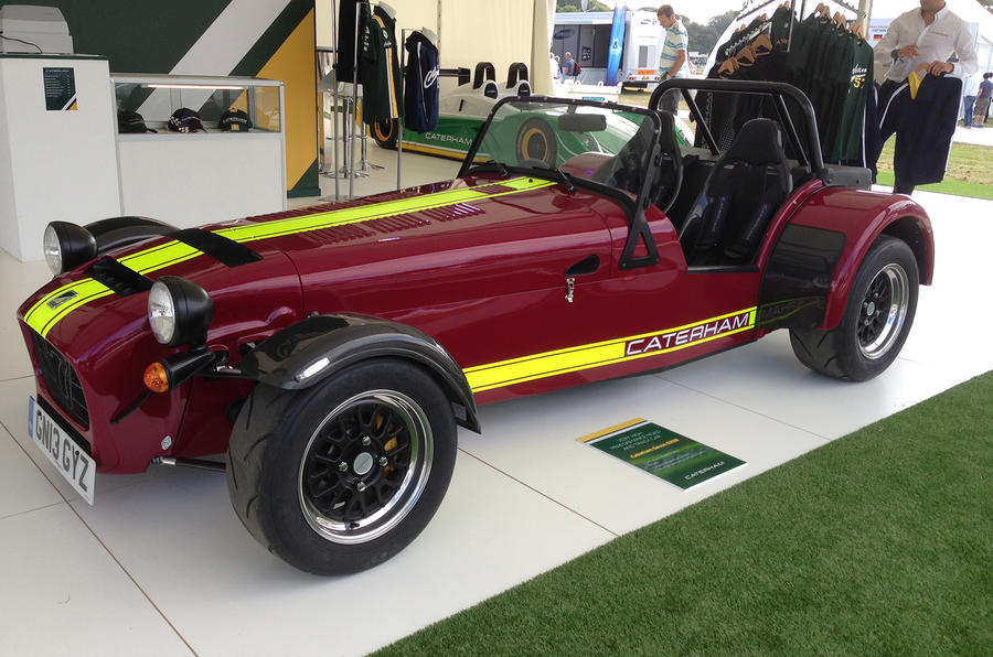 Goodwood Festival of Speed 2013: Caterham 620R