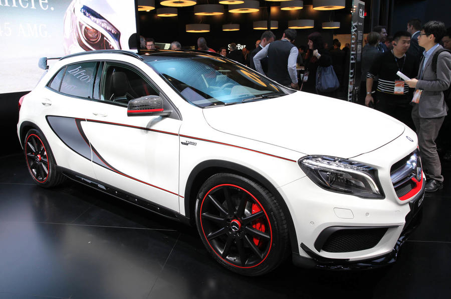 Mercedes-Benz GLA45 AMG launched at Detroit motor show