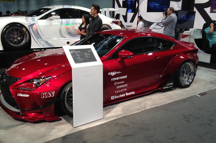 SEMA 2014 - hotter Lexus RC F Sport