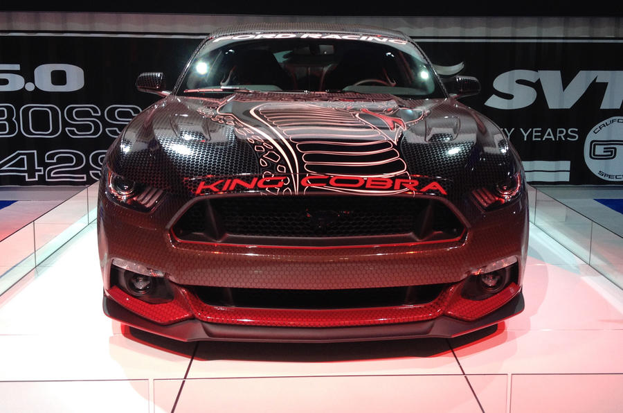 SEMA 2014 - 616bhp Ford Mustang King Cobra