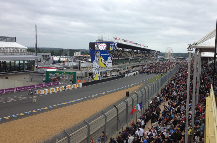Experiencing Le Mans Saturday